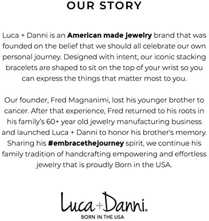 Luca + Danni | Divine Dime Bangle Bracelet For Women Made in USA