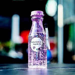 Sinwo 550ML ! Water Cup Outdoor Sports Travel Water Bottle Portable Leak-proof Camping (Purple)
