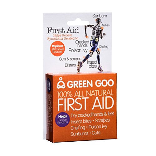 Green Goo All-Natural Skin Care (First Aid, Travel Tin)