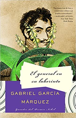 cover image, el general en su laberinto