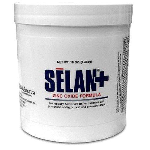 Selan+ Zinc Oxide Barrier Cream - 16 oz Jar