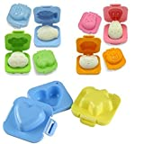Egg Sushi Rice Mold Mould (6 set Mold with SQdeal Gifts)