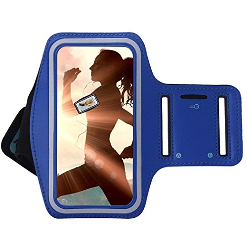 Elaco Running Sport Arm Band Case For Samsung Galaxy Note 8 /S8 (5.8inch )/S8 Plus (6.2inch)Outdoor Waterproof Running Gym Phone Cover
