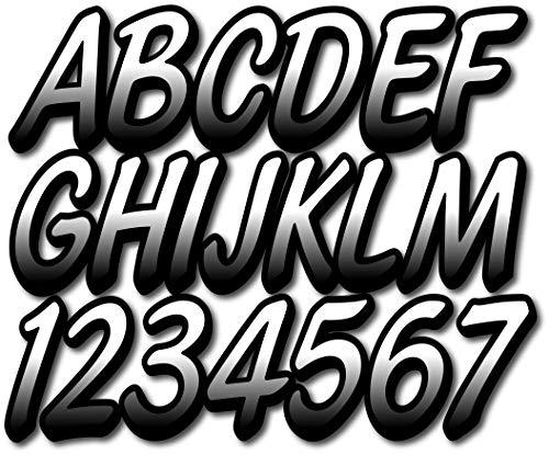 (Stiffie Whipline White/Black 3
