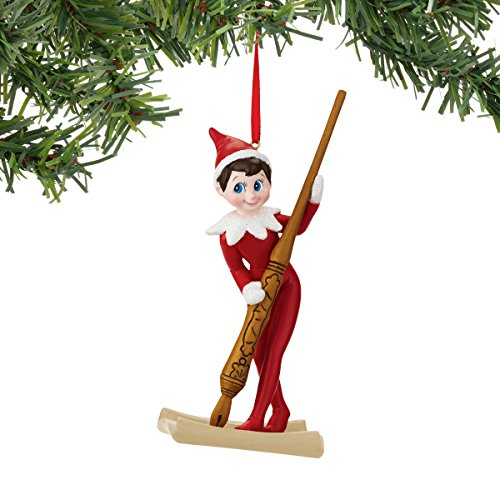 Department 56 Elf on the Shelf Santa's Pen Ornament ()