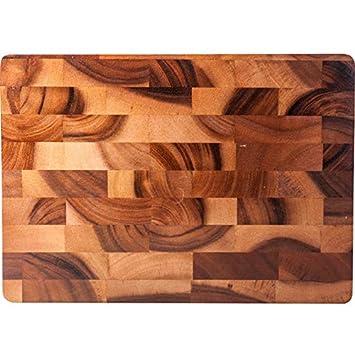 Tabla de cortar de madera maciza para el hogar tabla de cortar  antideslizante cocina puntada creativa tablero de corte Junta de corte de  madera Acacia  ... 0611314646b6