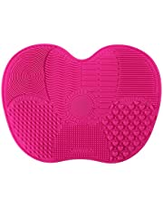 Proster Silicone Makeup Brush Cleaning Mat Scrubber Board Cosmetic Cleaner Washing Pad