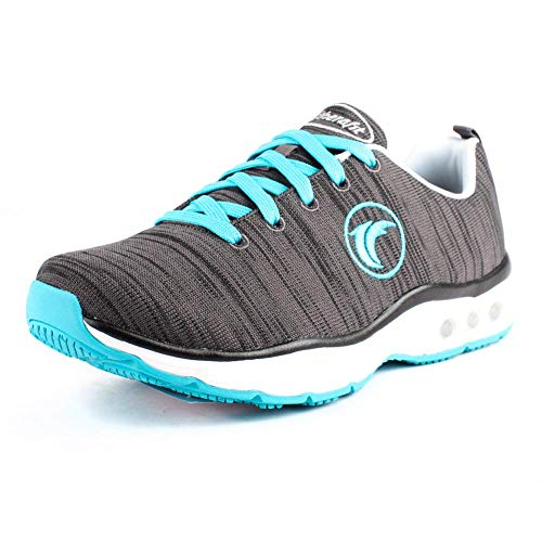 Therafit Paloma Lite Women's Athletic Sneaker for Plantar Fasciitis/Foot Pain Charcoal