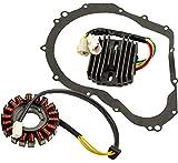for Suzuki GSX-R600 750 w/Gasket 2006-2012 Stator & Regulator Rectifier
