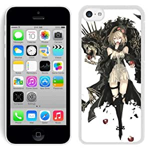 Lovely Iphone 5c Case Design with Black Butler Iphone 5c White Phone Case