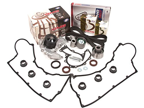 Evergreen TBK221CVC 93-97 Acura Honda Isuzu 3.2L 6VD1 Timing Belt Kit Valve Cover Gasket GMB Water (Isuzu Trooper Water Pump)