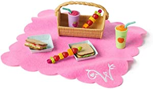 American Girl WellieWishers Garden Adventure Picnic for WellieWisher Dolls, Multi, (Model: GDW46)