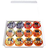 [Kyushu season diet Museum] Japan of fruit fruit jelly six (two of each) 12 pieces (sweet summer tomatoes Tankan melon blueberry new Takanashi) assorted gift set