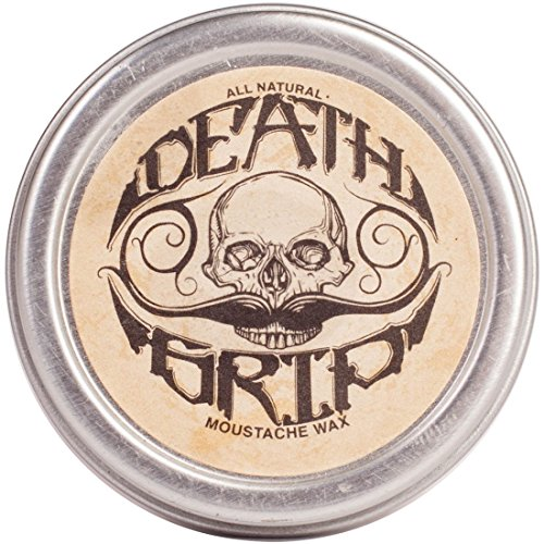 Death Grip Moustache Wax All Natural product image
