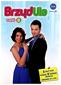 BrzydUla - Part 8 of Polish TV miniseries on 5-DVD (Region 2, PAL)