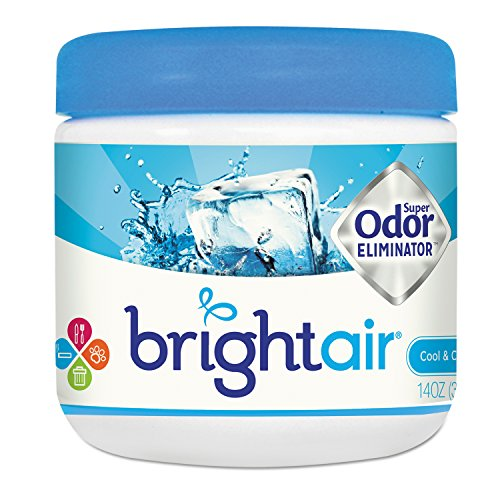 BRIGHT Air Odor Eliminator - Cool and Clean, 14 Ounce Jar