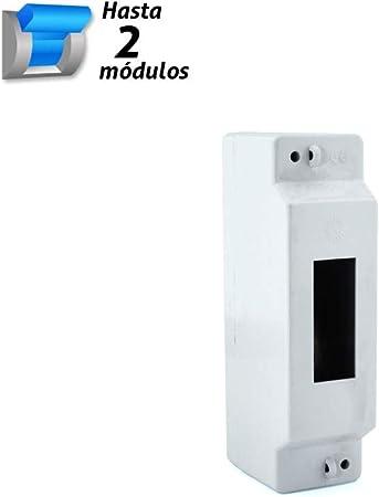 Caja de distribución superficie 2 módulos SOLERA: Amazon.es: Bricolaje y herramientas