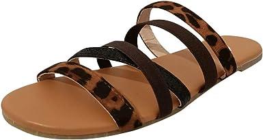 Womens Sandals Wide Width Slides Criss