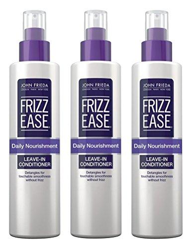 John Frieda Frizz-Ease Daily Nourishment Leave-In 8 Ounce (235ml) (3 (John Frieda Detangler)