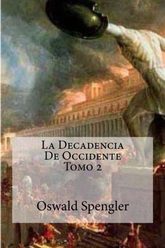 Book cover from La Decadencia De Occidente Tomo 2 (Spanish Edition)by Oswald Spengler