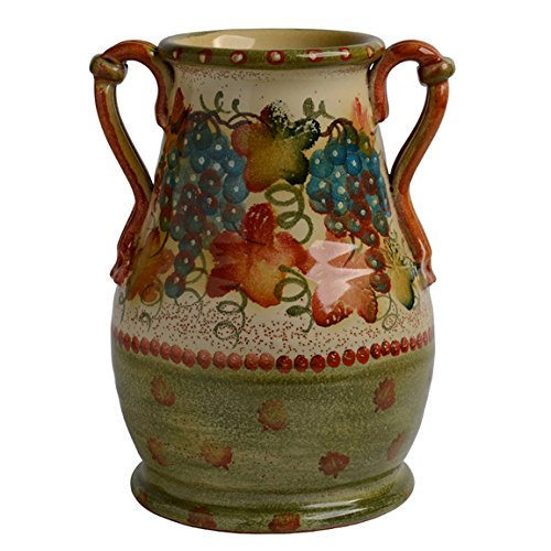 Italian Dinnerware - Handmade in Italy from our Terre di Chianti Collection (Vase Variation 4)