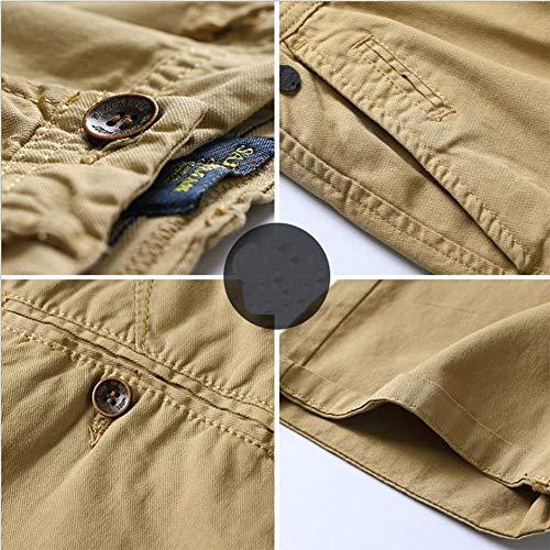 Fashion Garçons Bermudas Lannister Homme Court 3 D'affaires Shorts Jeune Armeegrün Pantalon Coton Combat De Pour Classique Vêtements Mode En Fête SqwpFd