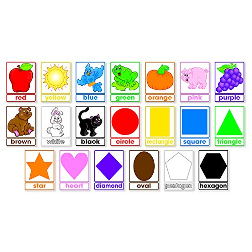 Scholastic Classroom Resources Colors and Shapes Bulletin Board (0545653657)