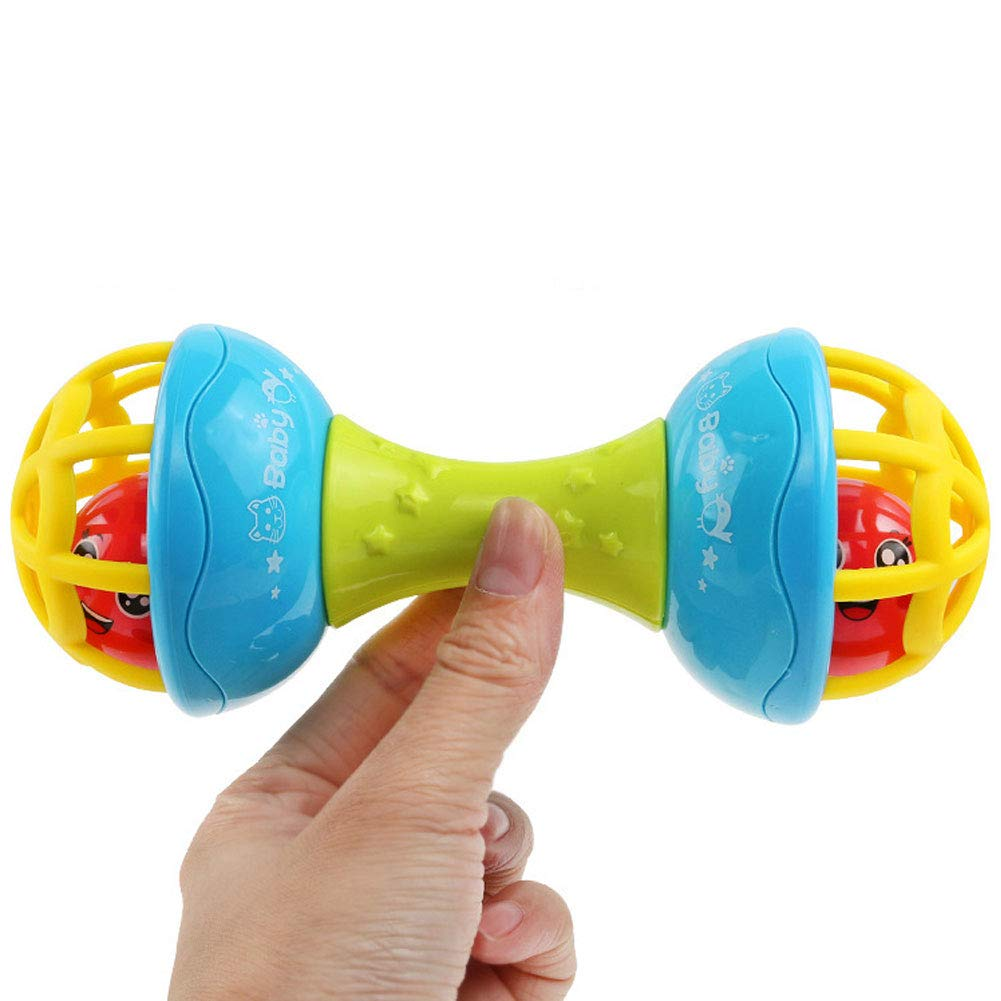 Baby massaggiagengive sonaglio Grasping Gengive Hand Bell educativo Regalo Cplapll Gifts for Christmas New Year