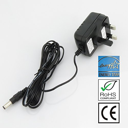 MyVolts 5V UK plug power supply compatible with Sonos Bridge 100 Music Player