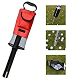 MD Group Golf Ball Picker Ups Retrievers Portable Pocket Storage Bag Scooping Device
