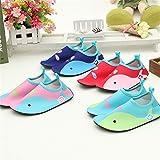 L-RUN Boys Girls Aqua Water Shoes Barefoot Shoes
