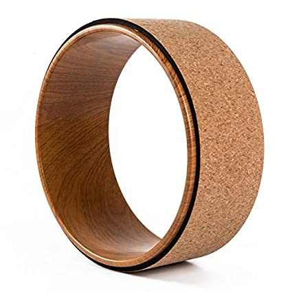 Amazon.com : Kaneed Cork Yoga Wheel + ABS Yoga Wheel - [Pro ...