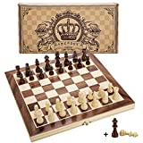"Amerous 12"" x 12"" Magnetic Wooden Chess Set for Adults and Kids, 2"