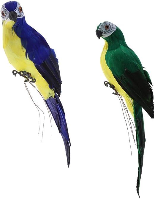 Wall Sculpture Macaw Parrot Art Decor Outdoor Tropical Patio Porch Bird Statue
