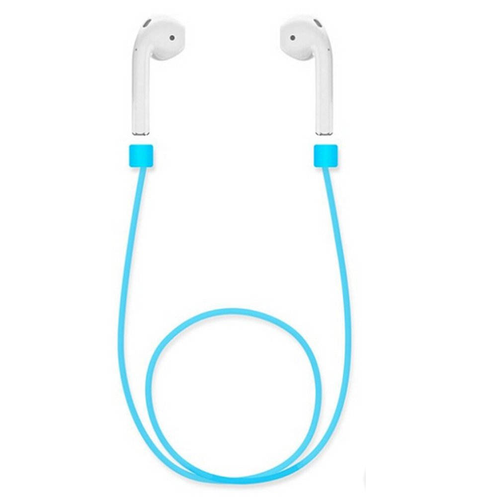 Avaspot Silicone Ear Loop Strap Anti Lost String Rope for AirPods - Blue