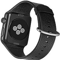 Correa de piel para reloj Apple Watch 4/3/2/1 Sport, edición de 1.496in, 1.575...