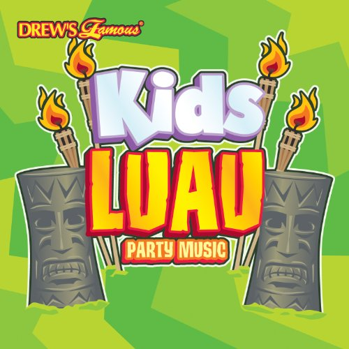 Kids Luau Party Music CD (Drew's Famous Halloween Costume Party Music)