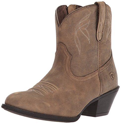 Ariat Women's Darlin Western Boot, Brown Bomber, 7.5 B US