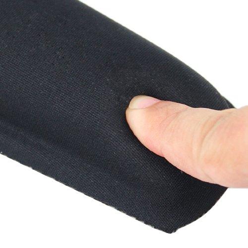 Poggiapolsi comfort in gel per tastiera Accessotech colore nero
