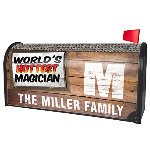 NEONBLOND Custom Mailbox Cover Worlds Hottest Magician (World's Best Magicians Of All Time)