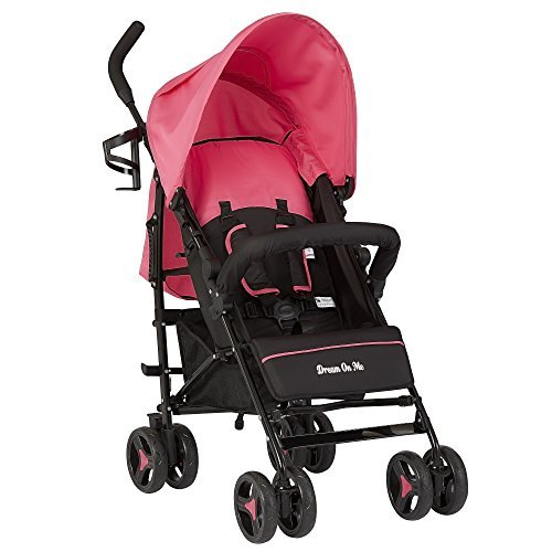 Dream On Me Jasper Lightweight Stroller, Pink