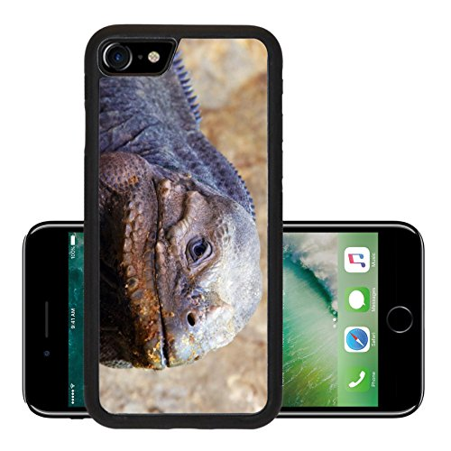 Liili Premium Apple Iphone 7 Aluminum Backplate Bumper Snap Case Iphone7 Closeup Of A Lizard Photo 511809
