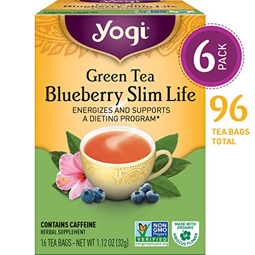 YOGI Organic Green Slim Life Weight Tea 16 BAG