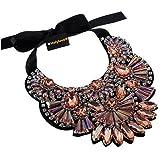 Holylove 5 Farbe Damen Statement Halskette Costume Schmuck für Damen Neuheit Mode 1 Set mit Geschenkbox