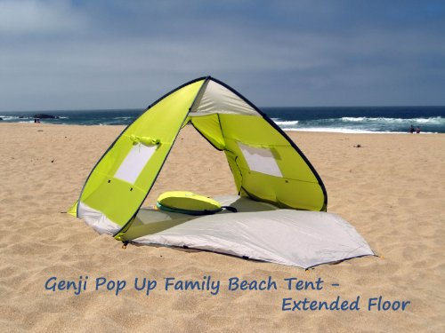 Amazon.com Genji Sports Pop Up Beach Tent with Extended Floor Sports u0026 Outdoors & Amazon.com: Genji Sports Pop Up Beach Tent with Extended Floor ...
