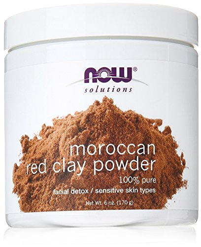 (NOW Red Clay Powder Moroccan, 6-Ounce)