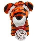 Daphne's Housse club de golf hybride forme tête de tigre