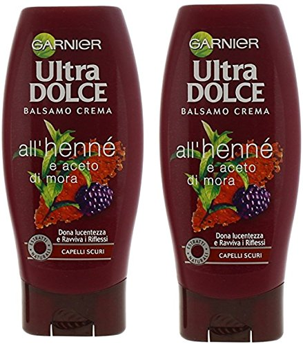 "Garnier:""Ultra Dolce""  Conditioner with Henna and Blackberry"