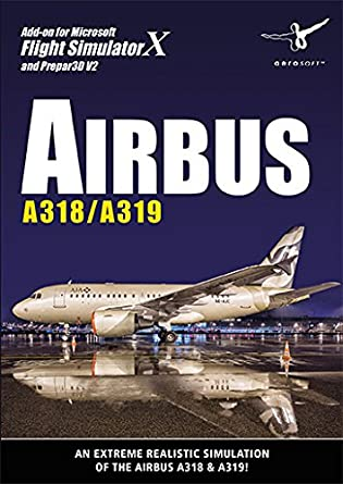 airbus a318 a319 pc dvd amazon co uk pc video games rh amazon co uk Airbus A318 Seating-Chart Airbus A318 Seating-Chart