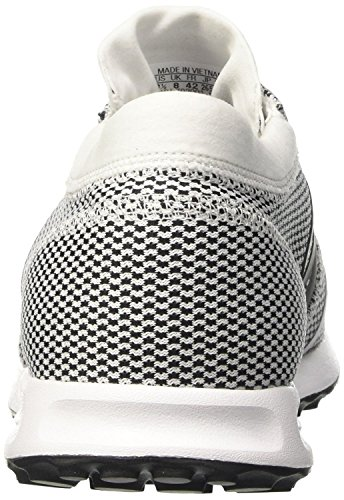 adidas Herren Los Angeles Sneaker Low Hals Weiß mit schwarz